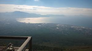 Sorrento coast from Vesuvius